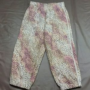TCP girls cheetah print sweatpants